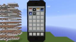 Working iPhone 5 in Vanilla Minecraft [13w37a]