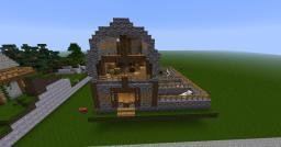 3 Stall Barn Minecraft Project