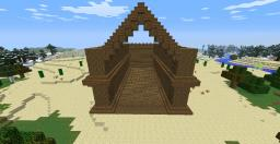 A wooden fort Minecraft Project