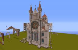 Laon Cathedral Minecraft Map & Project