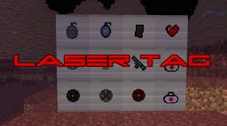 Laser Tag Resource pack (NOW WITH SOUNDS AND CUSTOM NAMES!!!)