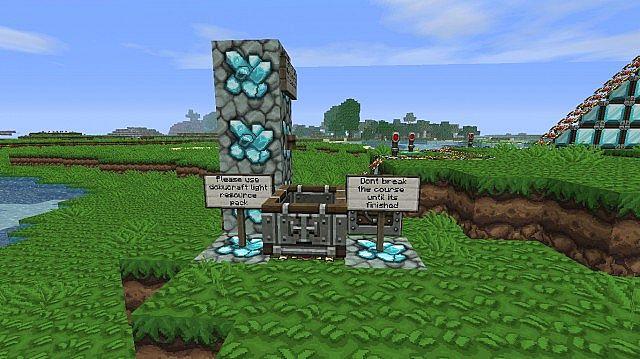The Diamond Minecart Minecraft Project
