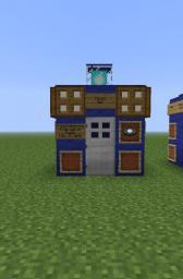 TARDIS Exteriors Minecraft Map & Project