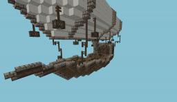 Almirian Transport AirShip Minecraft Map & Project