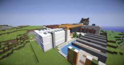 Modern House 3 Minecraft Project