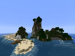 Stranded on a Survival Island Minecraft Map & Project