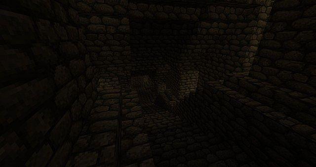 Medieval Underground Tunnels Minecraft Project