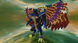 Dark Bahamut [Final Fantasy X] Minecraft Project