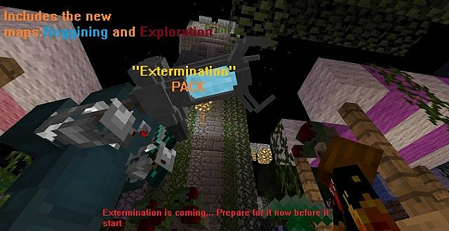 Extermination Zombies Map Pack Minecraft Project on
