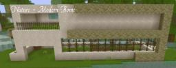Nature - Modern Home Minecraft Map & Project