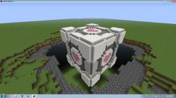 Companion Cube Minecraft Project