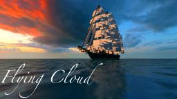 Flying Cloud — 1:1 19th Century Clipper Ship Minecraft Project