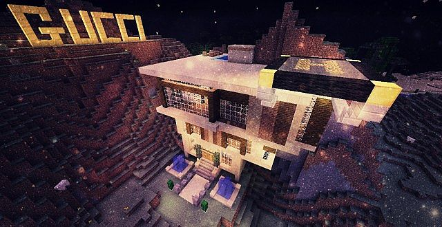 Gucci Mansion Minecraft Project
