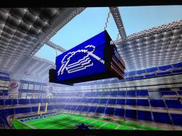 Dallas Cowboys Stadium Minecraft