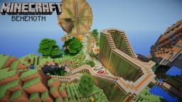 """Behemoth"" A Minecraft Roller Coaster Minecraft Project"