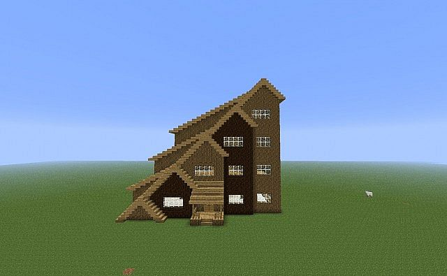 A Very Strange House (why did I build this?) Minecraft Project