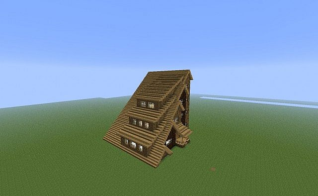 A Very Strange House Why Did I Build This Minecraft Project