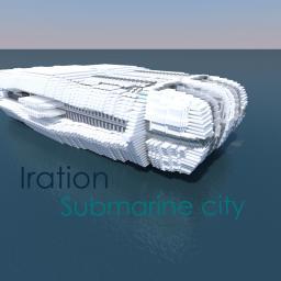 Iration [Futuristic submarine city] Minecraft Project