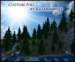 24X Custom Firs By Katariawolf * Schematic Minecraft Map & Project