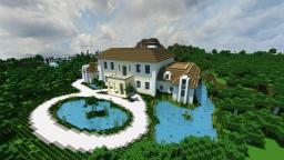 Tropical Mansion Minecraft Map & Project