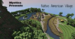 Native American Village-Talonzire Build Team feat. Dusty0245 and BlockyPanda [Pop-Reel] Minecraft Map & Project