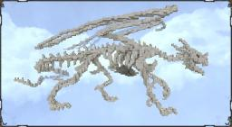 Dragonbones by Monsterfish (medium sized dragonskeleton) Minecraft Map & Project