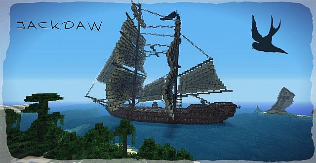 The Jackdaw Assassins Creed Iv Ship Minecraft Map