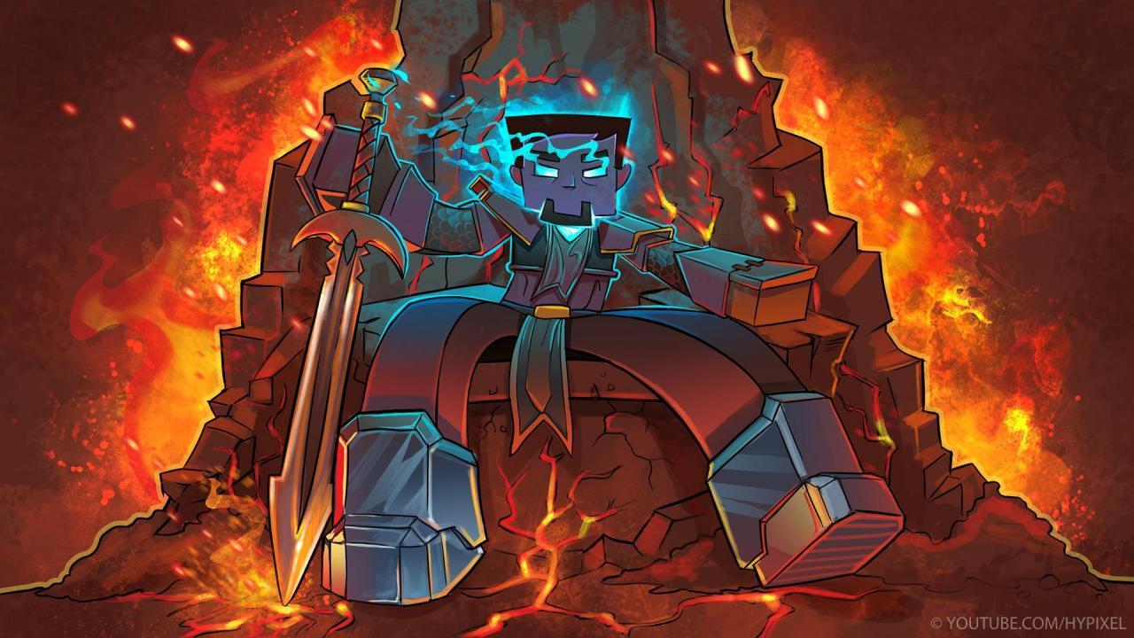 Herbrine's Temple - A Minecraft Story - Part 1 Minecraft Blog