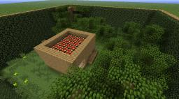 Real Working Redstone Hurricane simulater Minecraft Project