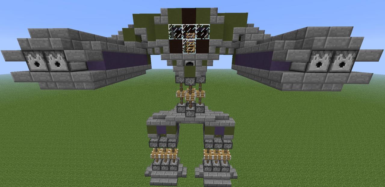 карта на майнкрафт механический робот 1.7.5 #6