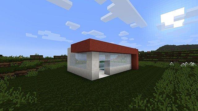 Blaze Modern Underground Home Minecraft Project