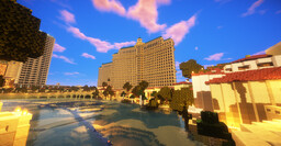 Las Vegas in Minecraft [Updated 7/24/21] Minecraft Map & Project