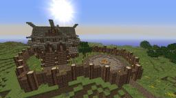Medieval Hill Fort Minecraft Map & Project