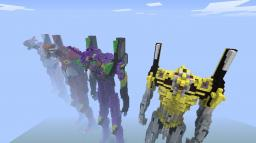 Evangelion 3.0 You Can (Not) Redo Evangelions Minecraft Project