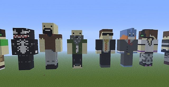 famous minecraft statues minecraft project