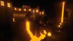 My World: Vulcano Stronghold Minecraft Map & Project