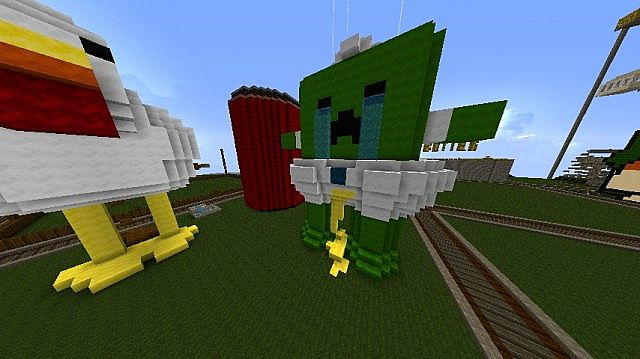 Crying Baby Creeper Minecraft Project