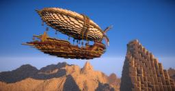 Centurious Class Steampunk Airship Minecraft Map & Project