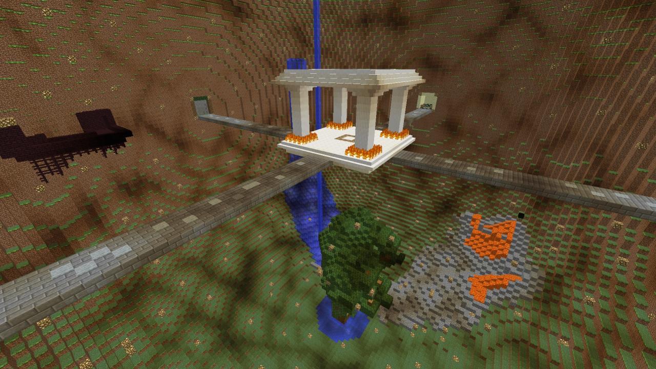 Server Spawn for Underground or Skyblock Servers Minecraft