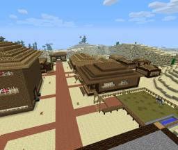 -Perdition's Wake-    Wild West World Minecraft Map & Project