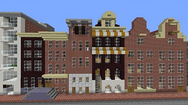 Amsterdam 1:1 (The Secret Annex Included) Minecraft Project