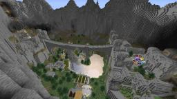 Dwarven ravine Minecraft Map & Project