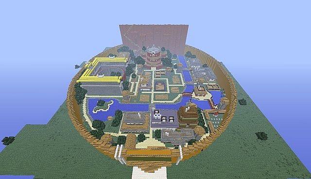 Naruto Arena Minecraft Build