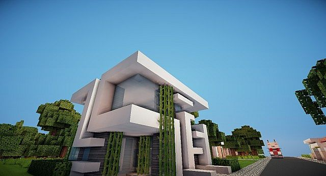 13x13 Modern House Keralis Not Furnished Minecraft Project