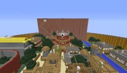 Konohagakure (Hidden Leaf Village) Minecraft Project
