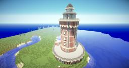 Historical Lighthouse Minecraft Map & Project