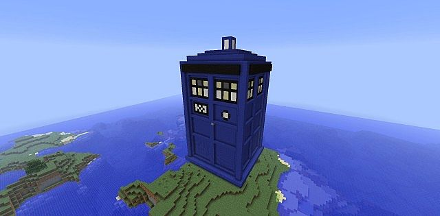 Dwcm Tardis Model Minecraft Project
