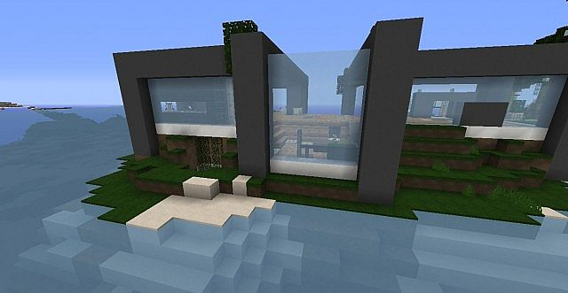 PyreUltra modern House Minecraft Project