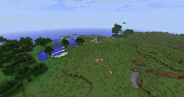 A relatively flat 1624 plains seed minecraft project this is what scapedoat does on default gumiabroncs Gallery