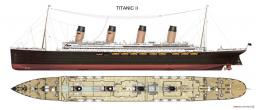 1st real titanic II in mc Minecraft